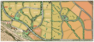 Gladden Farms Subdivision Community Map