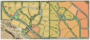 Gladden Farms Community Map