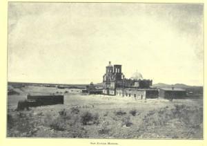 tucson history San Xavier Mission Tucson AZ