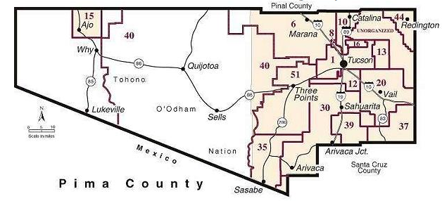 Tucson School Districts Map Metro Tucson