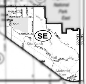 Arizona Sunset At Rita Ranch Subdivision
