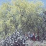 arizona state symbols blue palo verde tree