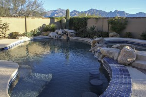 backyard pools tucson homes for sale