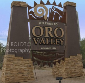 Town Of Oro Valley AZ Monument