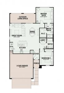 Quail Creek home floor plans sagebrush