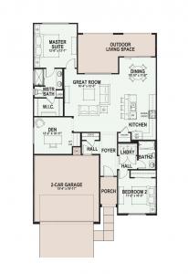 Quail Creek Home Floor Plans Cholla