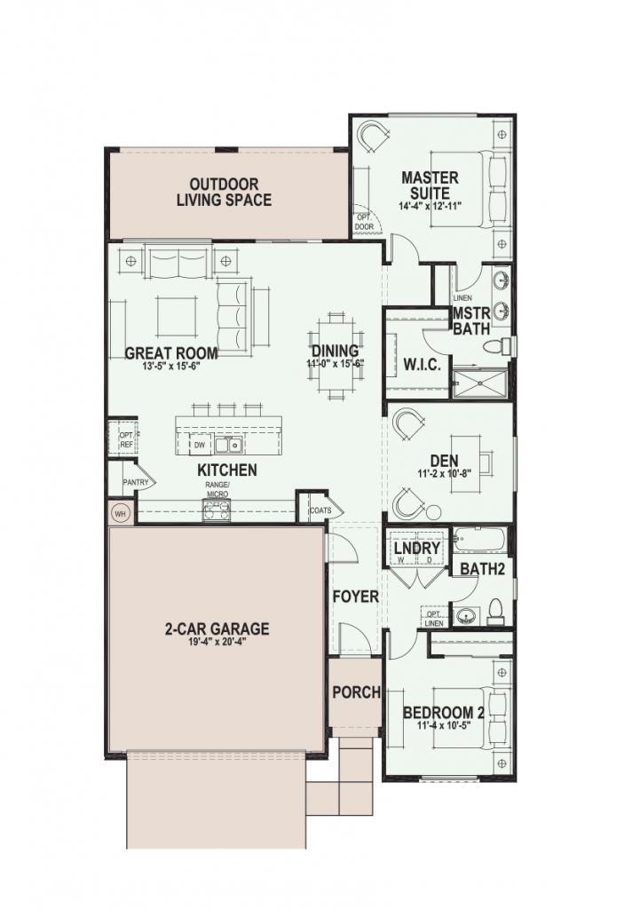 Quail Creek Primrose floor plan