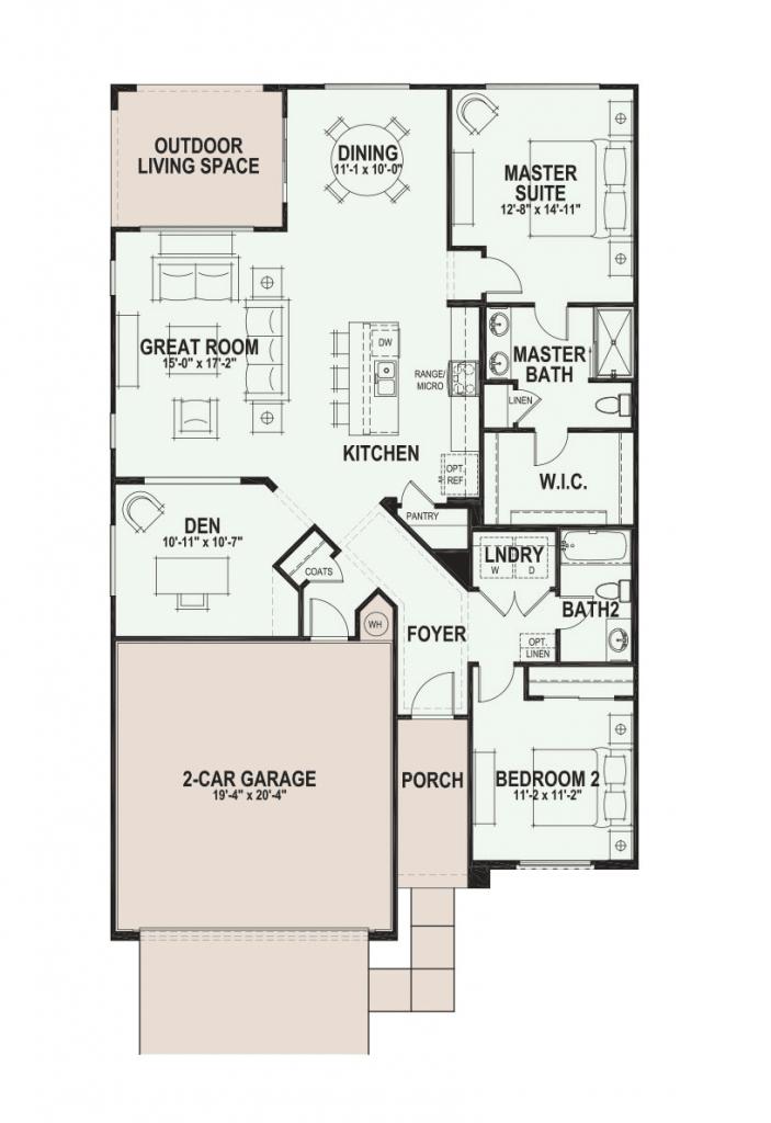 Quail Creek Lariat floor plan