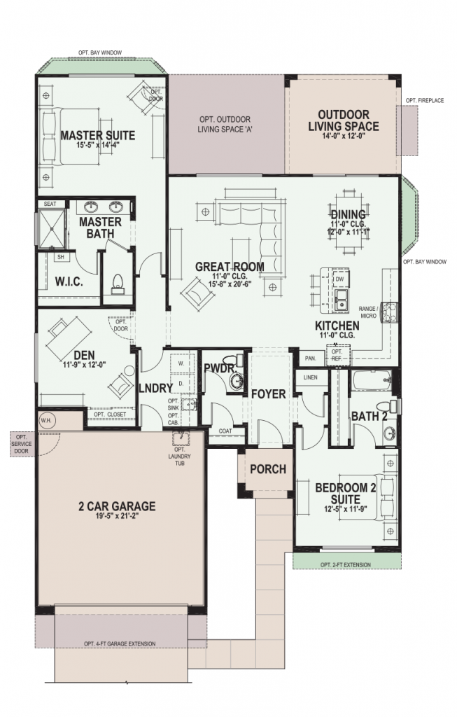 Quail Creek Agave Floor Plan