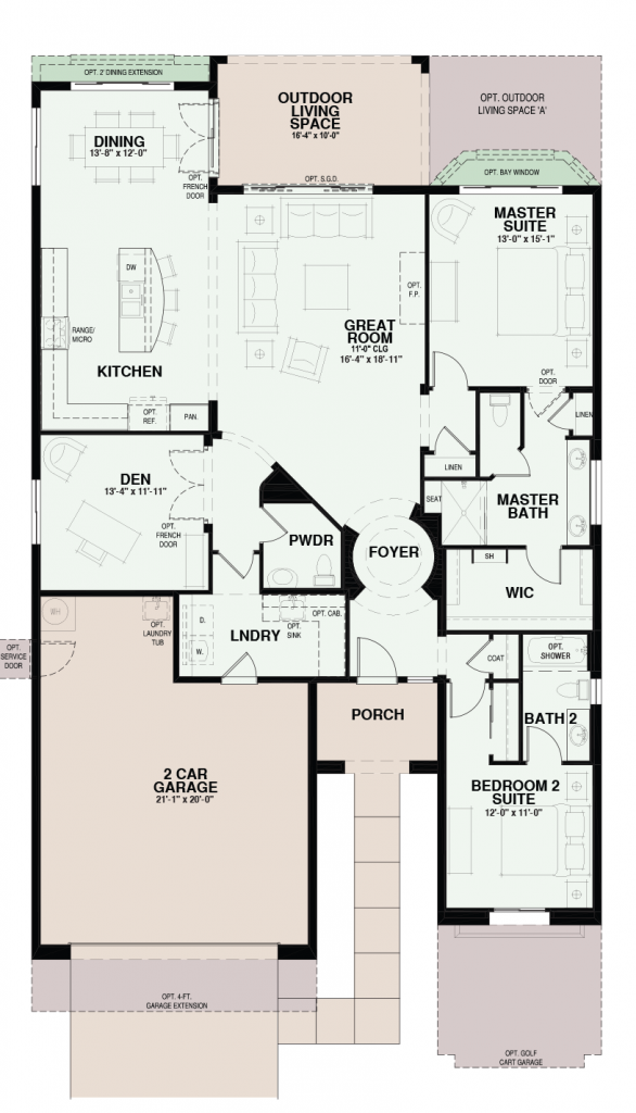 Quail Creek Fiesta Floor Plan
