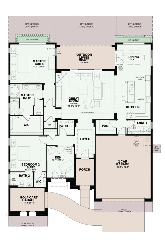 Quail Creek Treviso Floor Plan