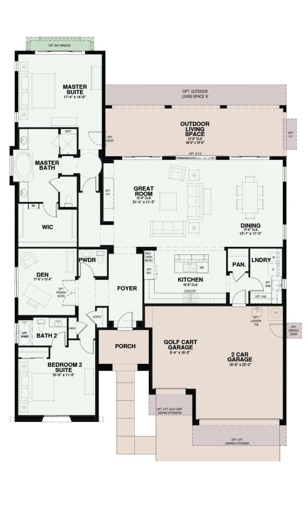 Quail Creek Mirador Floor Plan