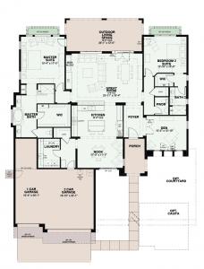 Quail Creek Floor Plan Montara