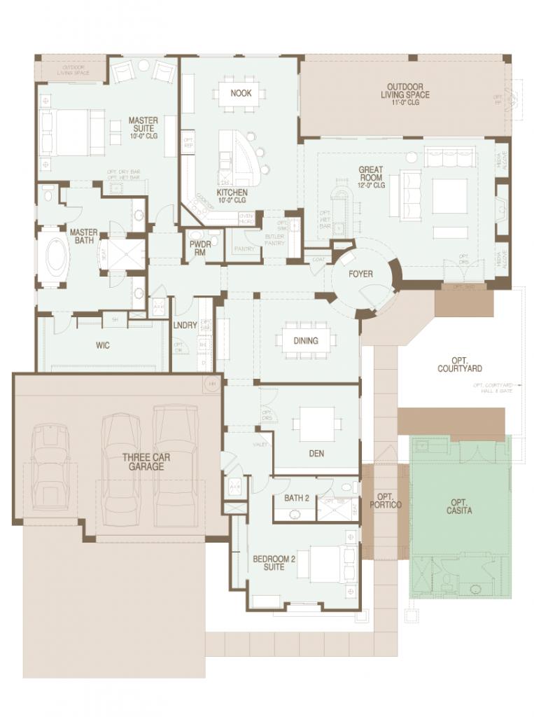 Preserve Sonoran floor plan