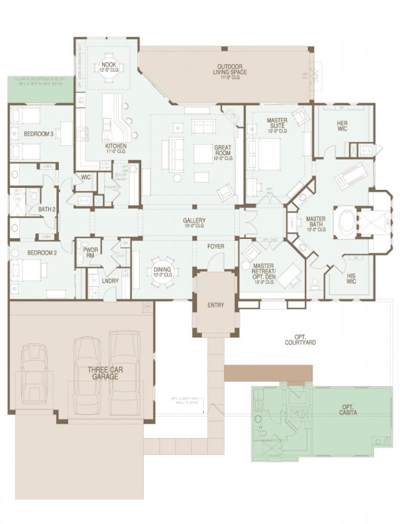 Preserve Tierra Floor Plan