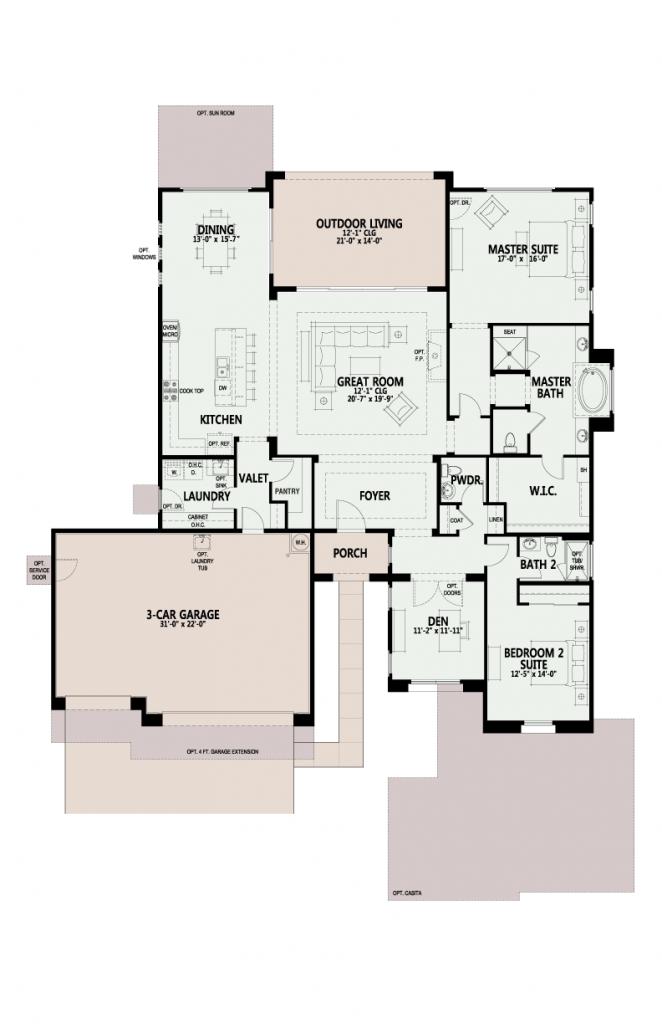 The Preserve Acacia floor plan