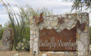 Butterfly Mountain Estates subdivision Tucson AZ