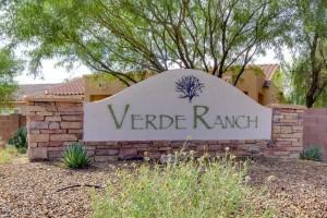 Verde Ranch Subdivision Oro Valley AZ
