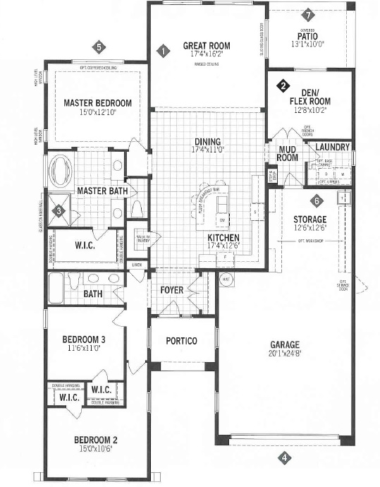 Mattamy Homes Painted Sky Floor Plan