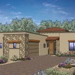 Boulder Pass Subdivision Tucson AZ Plan 2383 SouthWestern Ranch