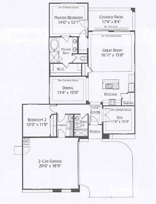 Center Pointe Vistoso Cochise Floorplan