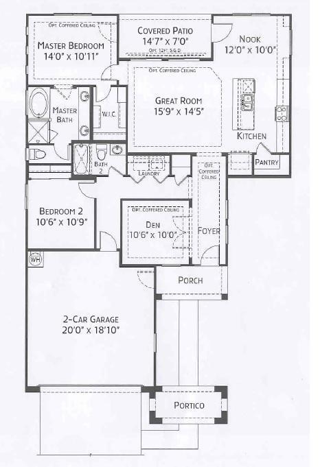 Center Pointe Vistoso Graham floorplan