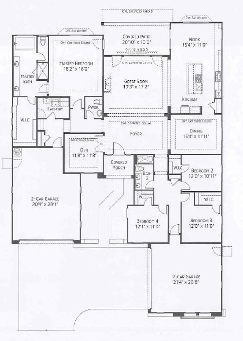 Center Pointe Vistoso Camelback floorplan