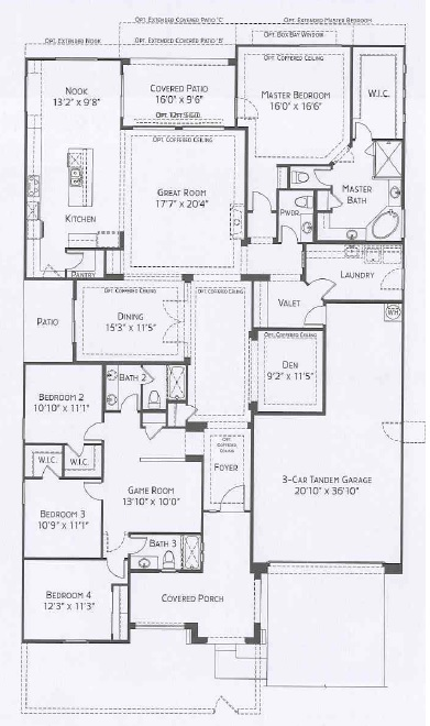 Center Pointe Vistoso Agave floorplan