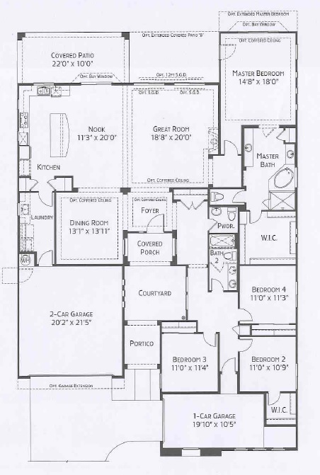 Center Pointe Vistoso Sage Floorplan Oro Valley Az