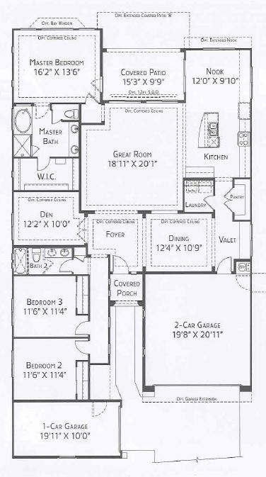 Center Pointe Vistoso Payson Floorplan