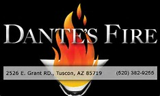 Dantes Fire Cocktails and Cuisine