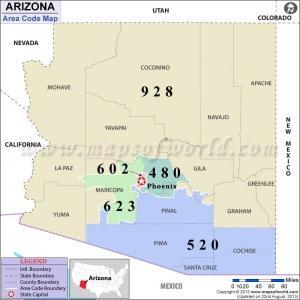 520 Area Code Includes Tucson Az And Southern Arizona